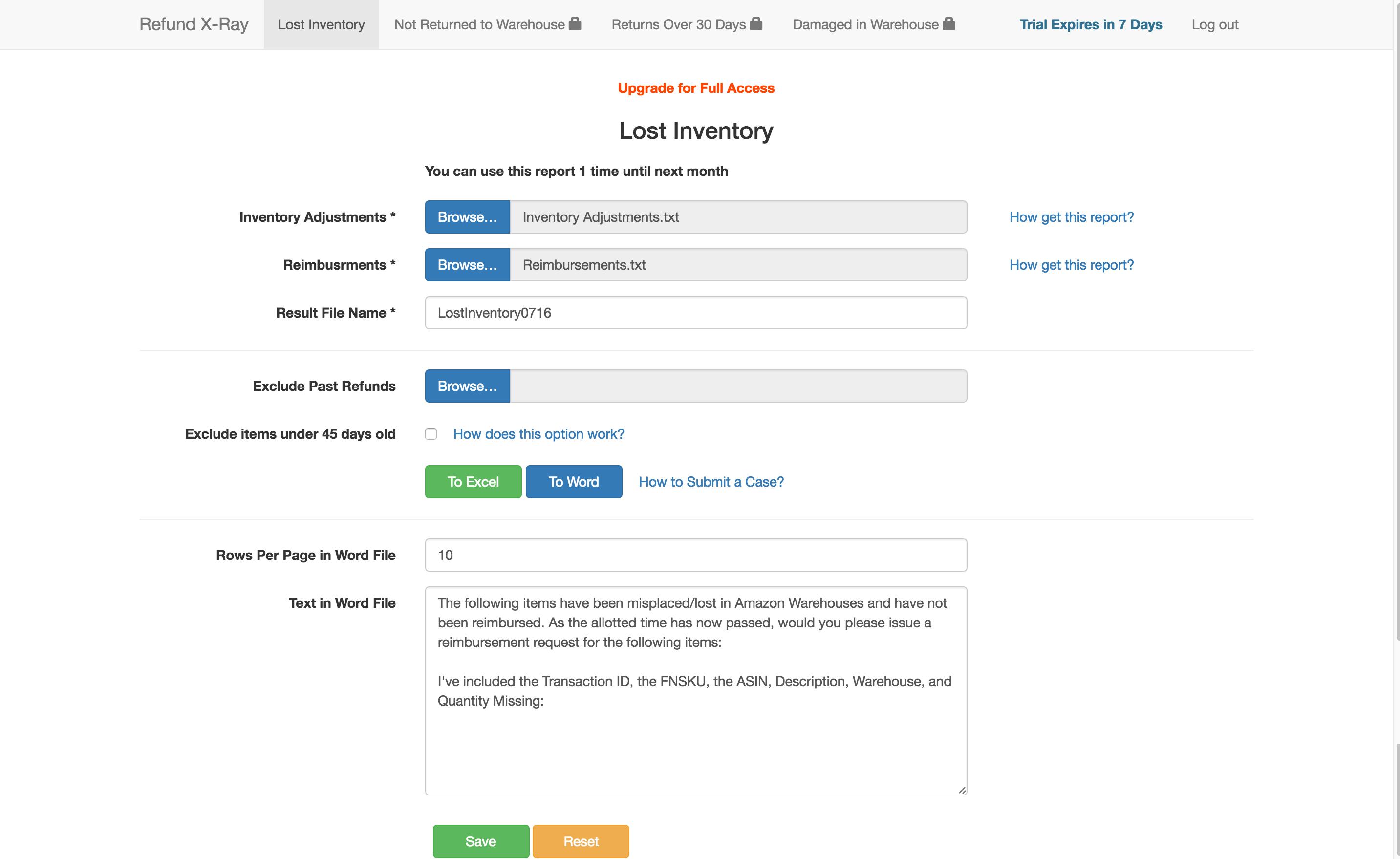 Lost Inventory Amazon FBA